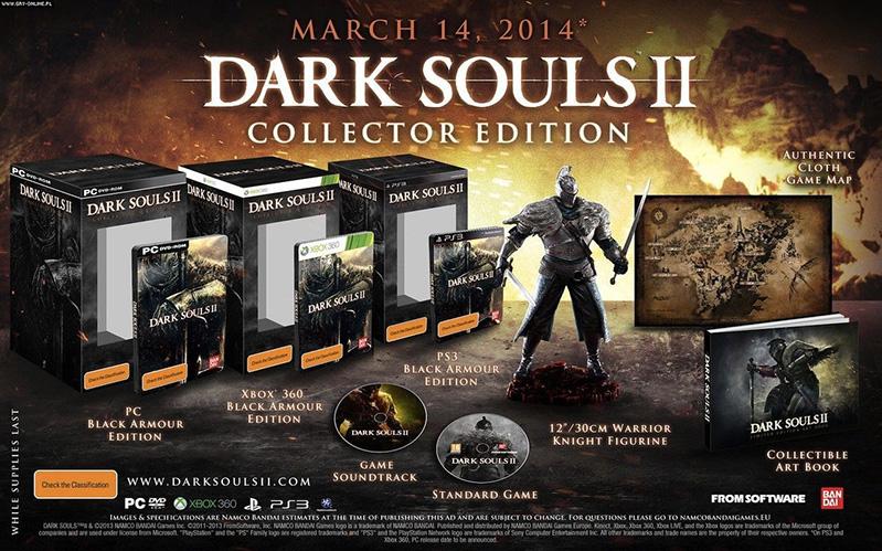 edycja kolekcjonerska - darksouls 2