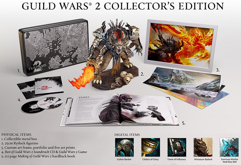 edycja kolekcjonerska - guild wars 2