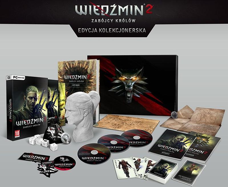 edycja kolekcjonerska - wiedźmin 2