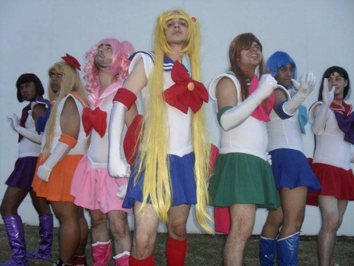 cosplay sailor moon mens edition