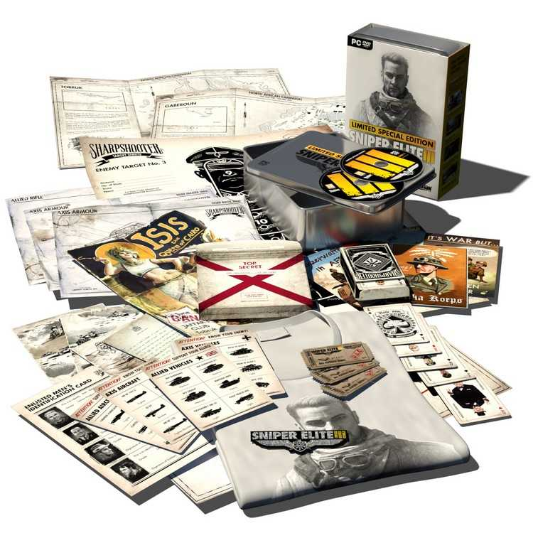 14.07.14 Sniper Elite 3 edycja limitowana edycja kolekcjonerska