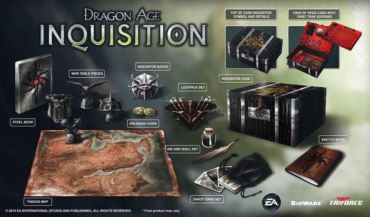 14.07.14 dragon age inkwizycja edycja kolekcjonerska