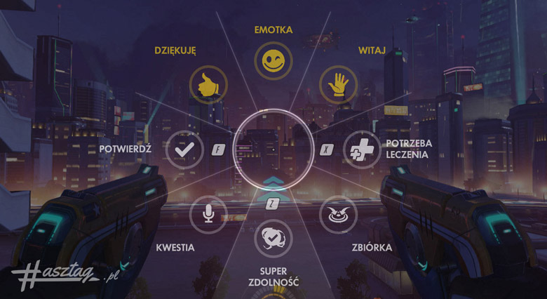 overwatch menu komunikacji