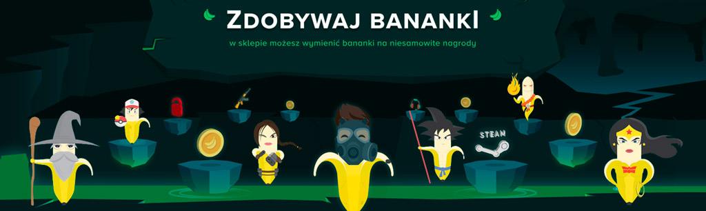zdobywaj bananki, bananki pl